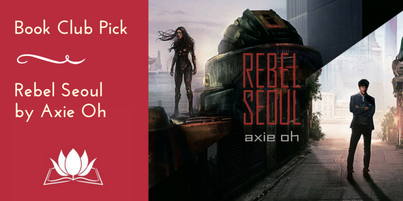 Book Club Pick Poster of Rebel Seoul