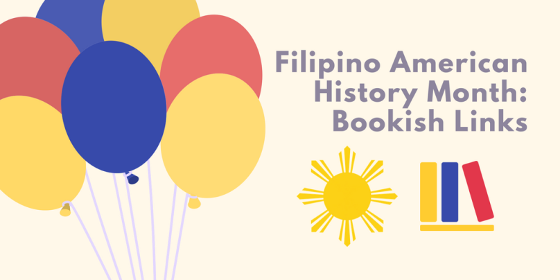 Banner in Filipino flag colours.