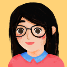 Digital self-portrait of CW
