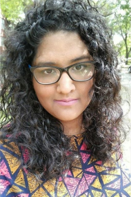 Photo of Janani outdoors